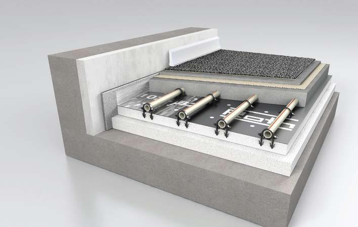 Fussbodenheizung ClimaComfort Systemplatte