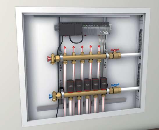 Installation Fussbodenheizung ClimaComfort