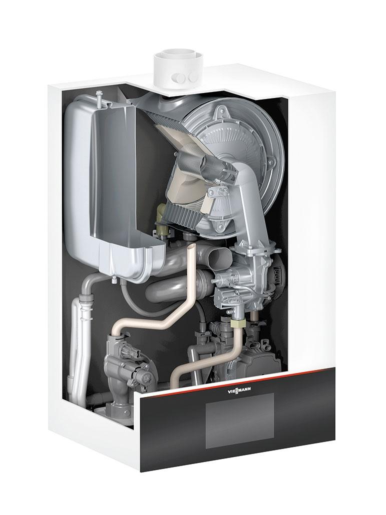 Gasheizung Vitodens 300-W