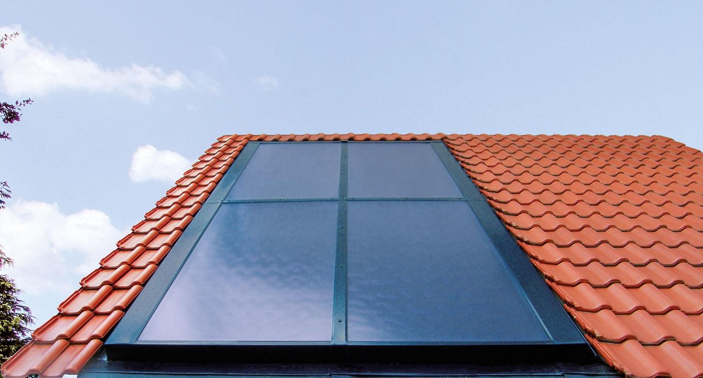 Solaranlage Vitosol 200-F