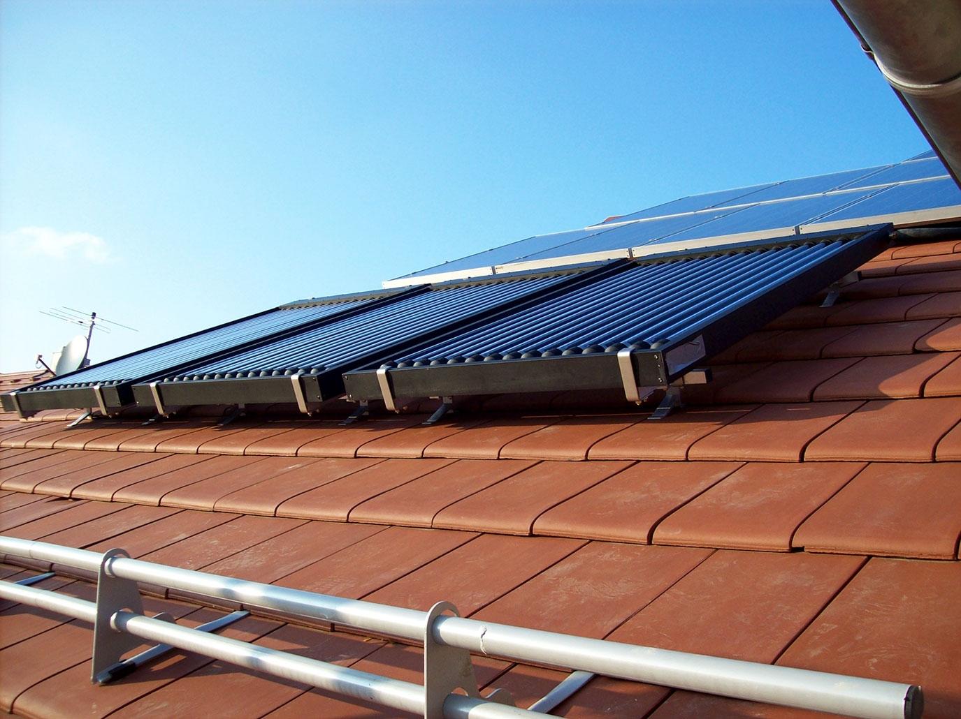 Thermische Solaranlage der Halter GmbH
