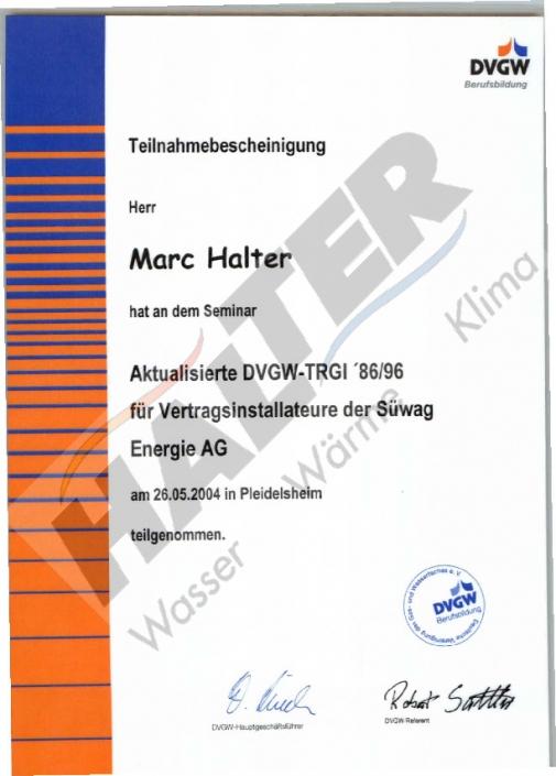 Vertragsinstallateur Süwag Energie AG