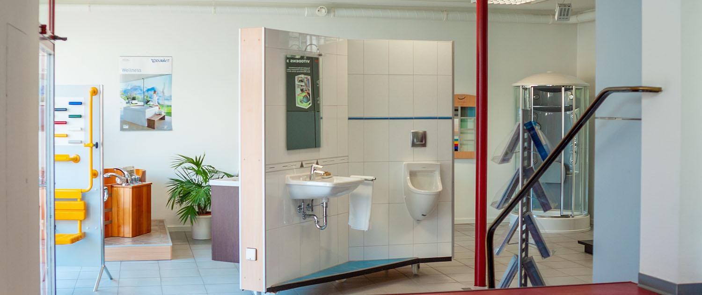 Ausstellung Bad-/Heizungsbau Halter in Neckarsulm