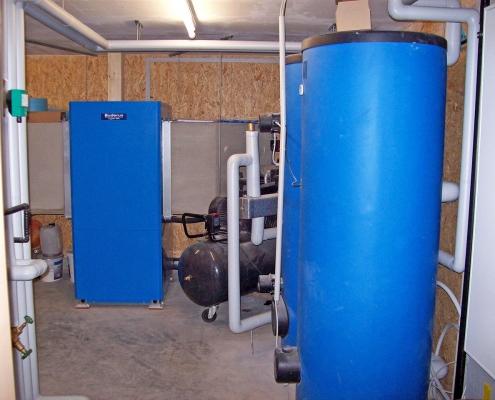 Buderus Niedertemperatur Wärmepumpe 22kW