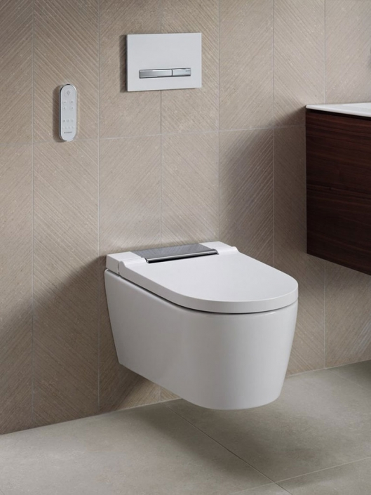 Geberit Aquaclean Sela Dusch-WC mit Sigma 50