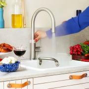 Quooker Wasserhahn (kochendes Wasser)