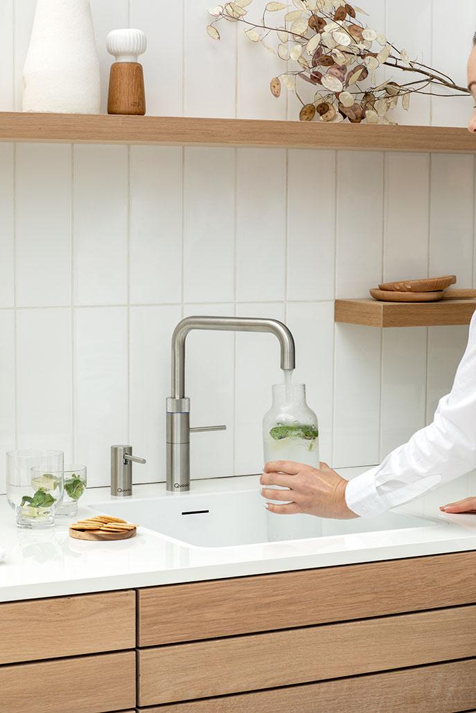 Quooker Wasserhahn (gekühltes Wasser)