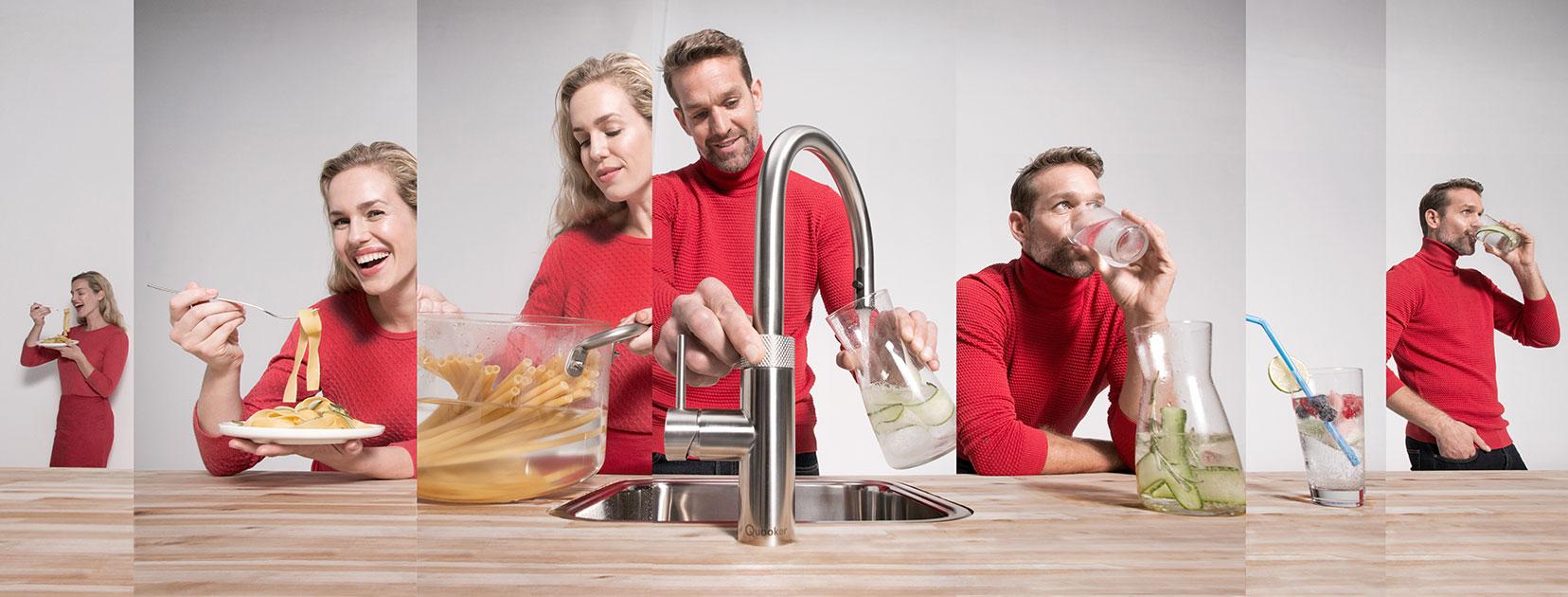 Quooker Wasserhahn Slider